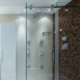 Cascade Wall to Wall Sliding Shower Door Kit - PSS