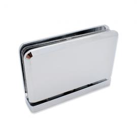 Shower Pivot Hinge - 8mm to 10mm Glass - Polished Chrome