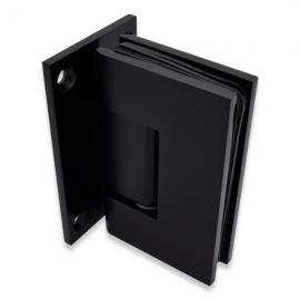 Shannon SQ Range - Wall To Glass Shower Hinge - Black