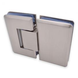 Adjustable 180 Degree Glass To Glass Shower Hinge - SC