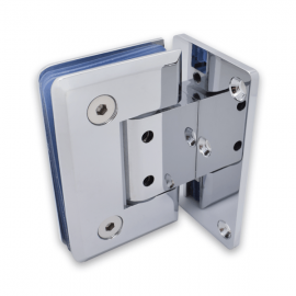 Adjustable Single Wing Wall  To Glass Shower Hinge - PC