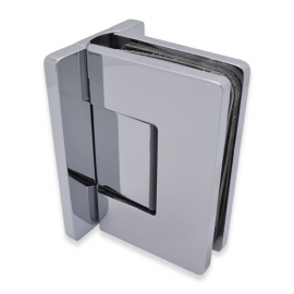 Amazon Range Wall To Glass Shower Hinge - Polished Chrome