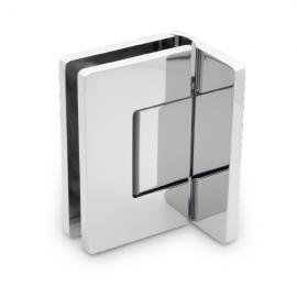 Amazon Range Offset Wall To Glass Shower Hinge - PC