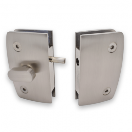 Indicator Lock with  Receiver - Glass to Glass - SS