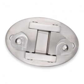 Arcade Canopy System Top Double Wall Bracket - 316 SS