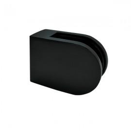 Glass Clamp - 63x45mm - 316SS Black - Flat - 6-12mm