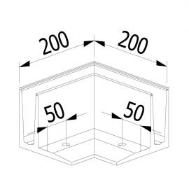 OnLevel 3010 F Type 90 Degree External Corner