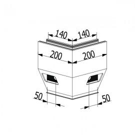 OnLevel 3021 Y Type Top Mount External Corner