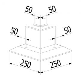 On Level 3030 90 Degree Corner - Internal