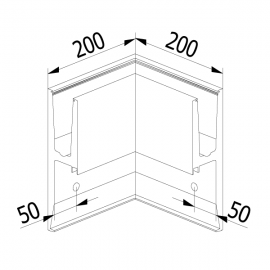 On Level 3031 90 Degree Corner - Internal
