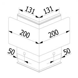 On Level 3031 90 Degree Corner - External