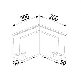 On Level 6030 90 Degree Corner - Internal / External