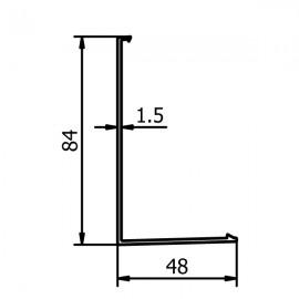 OnLevel 6501 Profile Cladding - Anodised Aluminium