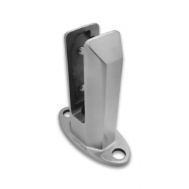 Square Type Glass Spigot - 10-21.52mm - With Cover