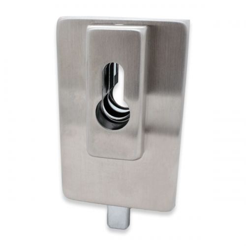 Patch Lock Satin Stainless