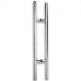 800mm Door Handle - Polished Stainless