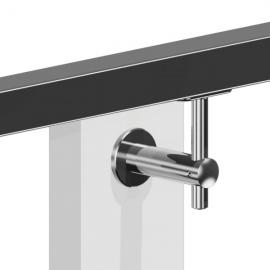 Adjustable Wall to handrail bracket - Flat