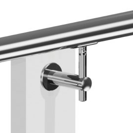 Adjustable Wall to Handrail Bracket for Tube 48.3mm