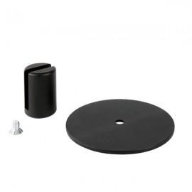 VistaScreen Desk Stand - 4-10mm Material - RAL9005 Black