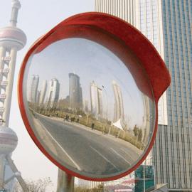 Outdoor Convex Mirror 450mm Acrylic