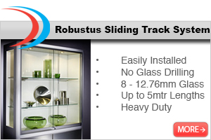Robustus Heavy Duty Sliding Track Hardware