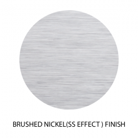 15mm Brushed Nickel(SS Effect) U Channel - 10mm Thick Glass