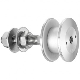 60mm Dia. Flat Head Articulated Bolt For 22 - 26mm Thick Gla