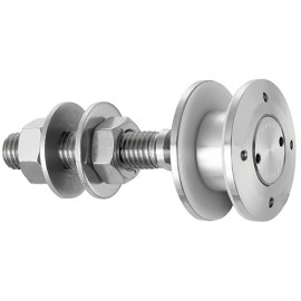 50mm Dia. Flat Head Articulated Bolt For 15 - 22mm Thick Gla
