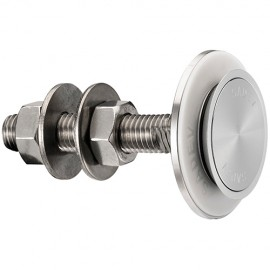Countersunk Fixed Bolt For 15 - 22mm Thick Glass