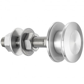50mm Dia. Flat Head Fixed Bolt For 15 - 22mm Thick Glass