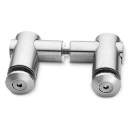 T Type Glass To Glass Connector
