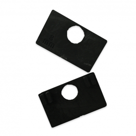 Rubber Gasket For 52x52mm Clamp - 8mm Glass