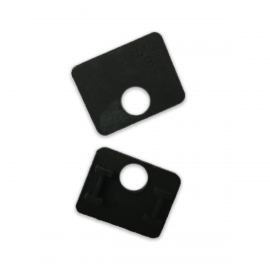 Rubber Gasket For 67x55mm Clamp - 8mm Glass
