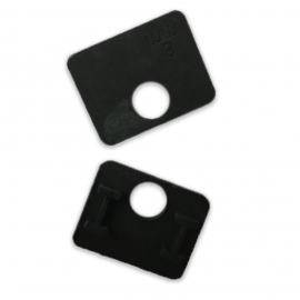 Rubber Gasket For 70x60mm Clamp - 17.52mm Glass