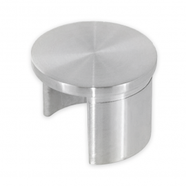 Slotted Handrail End Cap for Tube 48.3mm x 1.5mm