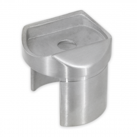 Slotted Handrail to 48.3mm x 1.5mm Tube Adapter
