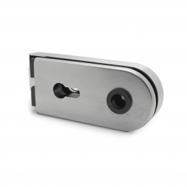 Lever Lock - Lockable - Satin Stainless