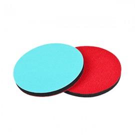 100mm Diameter Red Polishing Pad
