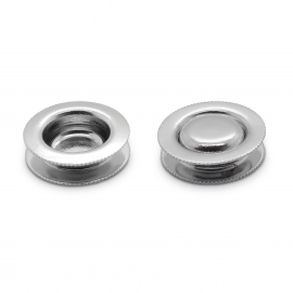 Finger Pulls Chrome Plated - 22mm Hole
