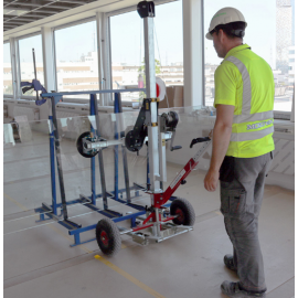 One Man Glass Transport & Glazing Device - 150kg Capacity