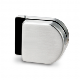Indicator Lock Receiver - Single Action -  Satin Stainless