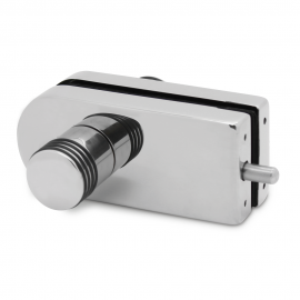 Indicator Lock - Double Action - Satin Stainless