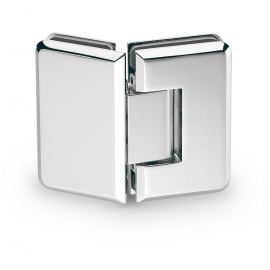 135 Degree - Glass to Glass Shower Hinge - Polished Chrome