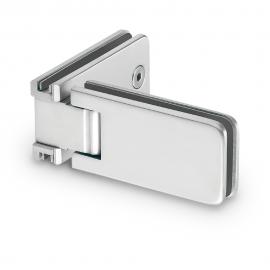 90 Degree - Glass to Glass Shower Hinge - Polished Chrome
