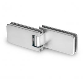 180 Degree - Folding Glass to Glass Shower - Polished Chrome