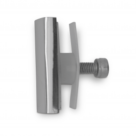 Cascade Rail To Glass Panel End Fixing - PSS