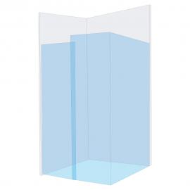Easi-Glide Wall 2 Glass/Glass 2 Glass/Wall2Wall Kit (1500mm)
