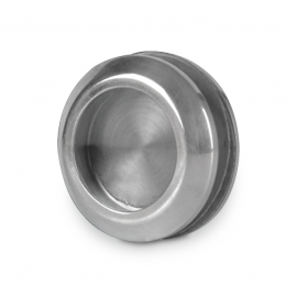 Concealed Door Pull - Mat Silver