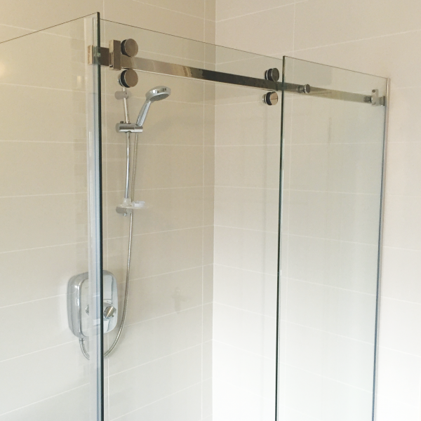 Cascade Wall To Wall Sliding Shower Door Kit Sss
