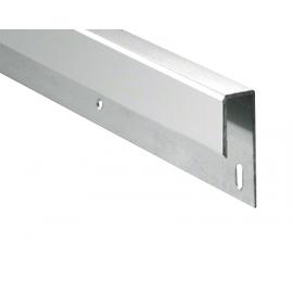 J Profile - Polished Aluminium